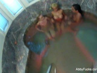 Abigail Mac Behind The Scenes Lesbian Threesome