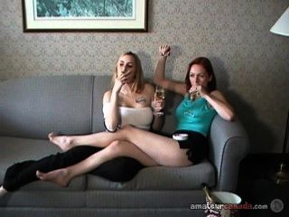 Allie And Mercedes Smoking