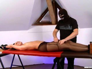 Tickling-submission - Sandra Is Tickled On The Rack
