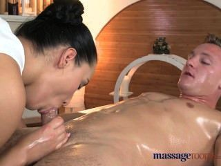 Massage Rooms Black Hair Teen Is Fucked Left Right And Centre Until Climax