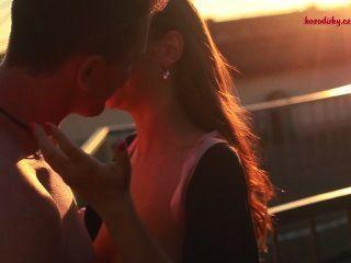 Happy Porn Valentine - Sandy & Robert: Rooftop Romance / Kozodirky.cz