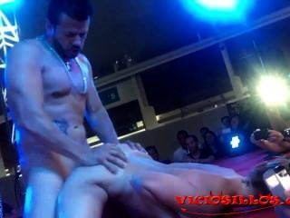 Bigtits Blonde Spanish Pornstar Daniela Evans Fuck On Stage By Viciosillos