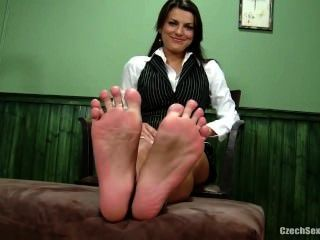 Sexy Czech Feet And Soles