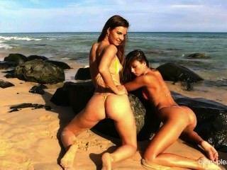 Girls In The Beach