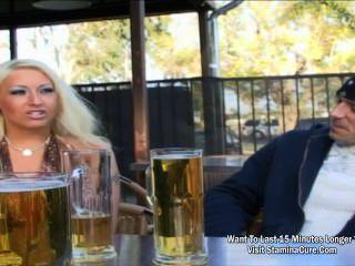 Blonde Bombshell Fucking A Stranger