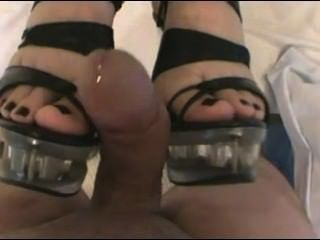 Cumshot On Heels
