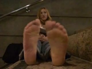 Nice Blond Girl Soles