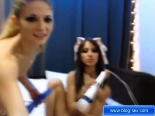 Emma And Daiana Ready To Determine You A Better Masturbation