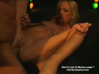 Sexy Blonde Fucking Gently In Her Asshole