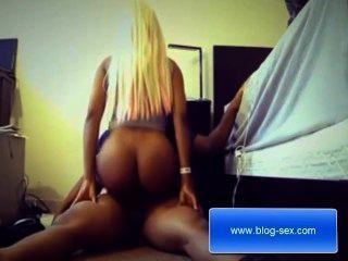 Blonde Ebony Ready To Determine You A Better Masturbation