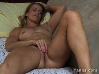Blonde skyla toying her pussy and ass tmb