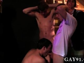 Twink Video Pledges In Saran Wrap, Bobbing For Dildos, And Jalapeno Blow