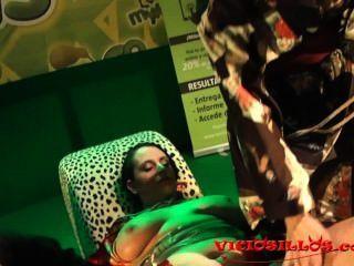 Crazy Rules, Iori Y Anraro Shibari Fuck Show On Stage By Viciosillos.com
