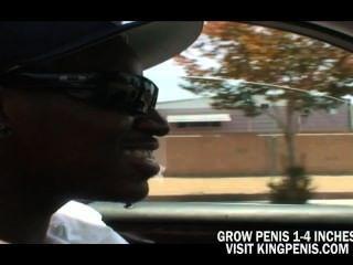Big Tits Brunette Want A Big Black Cock On He