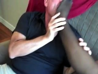 Naughty Footjob With 2 Guys