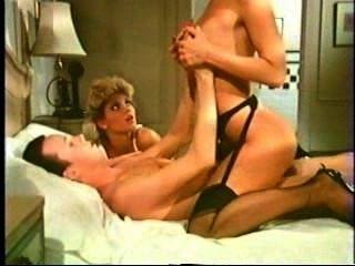 Amber Lynn & Ginger Lynn & Tom Byron Scene From Trashy Lady Part #03