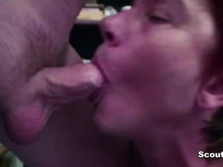 German Mom Fucks Anal By Very Skinny Young Boy