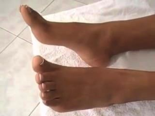 Ebony Girl Feet