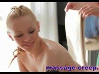 Blonde Teen Fucked By Her Masseur