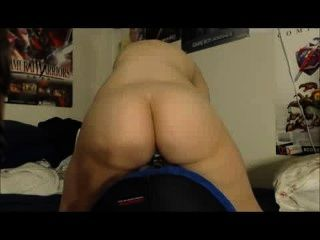 Big Booty Gamer Riding