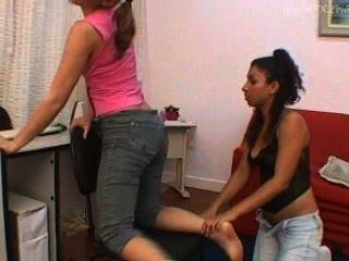 farts Lesbians smelling