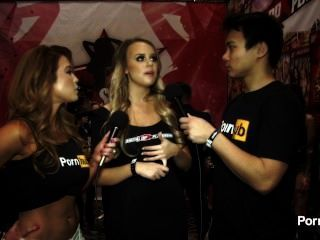 Pornhubtv Alexis Adams Interview At 2015 Avn Awards