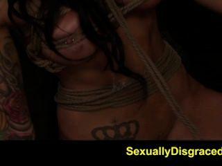 Fetishnetwork Alby Rydes Hot Rope Bondage Slave