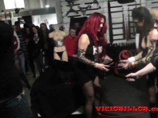 Carolina Abril, Mistress Noor Bdsm Show With Kevin Diamond By Viciosillos