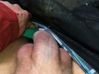 Releasing My Hard Cock At Work