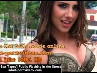 [latina Sex Tapes] Public Flashing In The Street