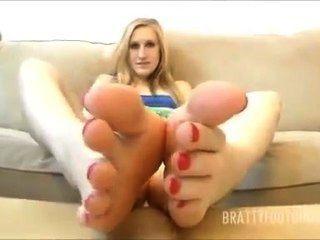 Blonde Feet Magical