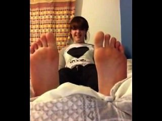 Cute Girl Sent In Her Foot Fetish Audition In Part 8