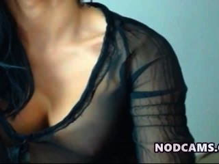 Super Model Latina Teasin In Sexy Blouse