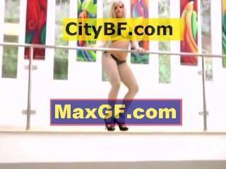 Blonde Bikini Hottie Sexy Tease