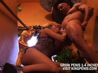 Hottie Blonde Taking Care For Bigcock