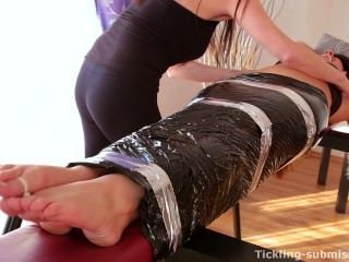 Tickling-submission - Ticklish Feet And Tied Toes