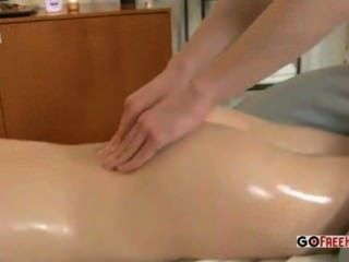 Massage Therapist Massages Client Inside And Out