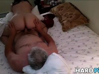 Mature Wife Rides Hubbys Dick