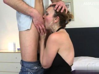Sexy Muschi Homemade Blowjob