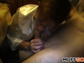 50 Year Old Milf Sucks Cock