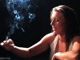 Naughty Ness Smoking