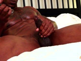 Next Door Ebony - Thick Ebony Dick Masturbation