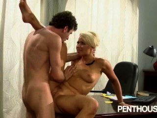 Hot Boss Fucks On Her Desk