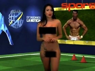 Was sexiest news reporters naked here casual