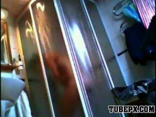 Amateur Teen Hidden Shower Toilet Cam