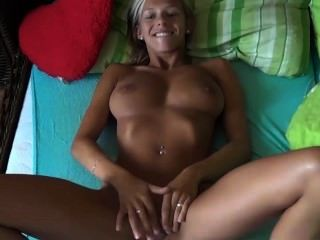Czech Amateur Couple Fuck Hot Busty Blonde