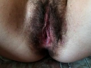 Creampied Hairy Pussy