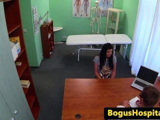 Bigtitted Eurobabe Pounded By Fake Doctor