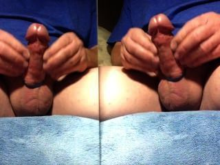 Masterbating Dual Image,juciey Stream Of Cum