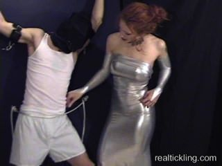 Priscilla Tickle Tortures A Guy
